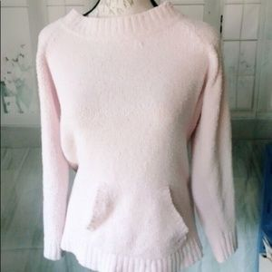 Carolyn Taylor Large Pink Soft Sweater Chenille